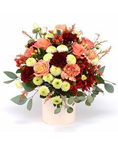 Love In Casablanca Mixed Rose Bouquet