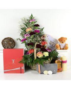 Thymes Birthday Bash Chocolate & Flower Gift