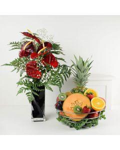 Keep It Fresh Flower & Fruit Combo