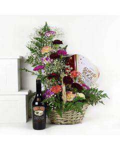 Luxe Delight Flowers & Baileys Gift