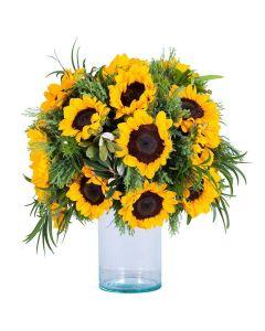 Eternal Sunshine Sunflower Bouquet