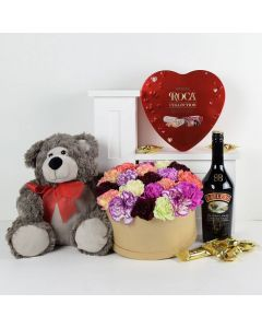 Pure Perfection Flowers & Baileys Gift