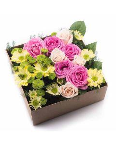 Tuscan Tea Party Box Rose Set