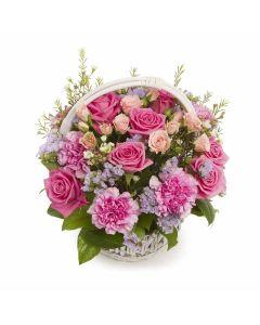 Simply Sweet Spring Flower Basket
