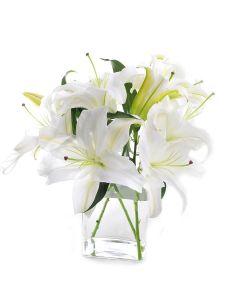 Cornsilk Surprise Lily Bouquet