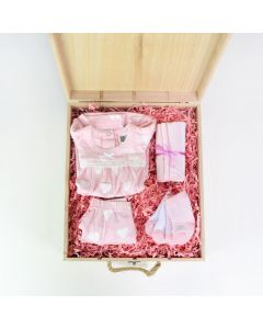 Girl's Arrival Crate - Baby Girl Gifts