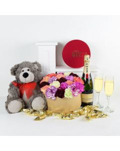 """""""You're Special To Me"""" Flowers & Champagne Gift"""