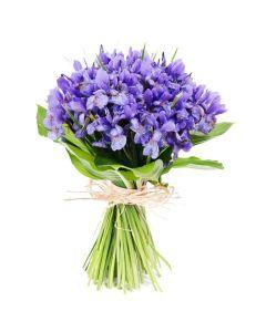 Lavender Whispers Iris Bouquet