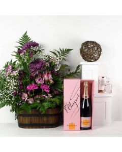 Luxe Passion Flowers & Champagne Gift