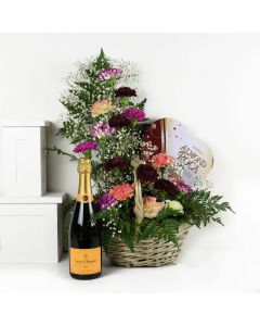 Luxe Delight Flowers Champagne Gift