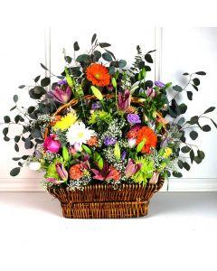 Bountiful Garden Basket For Mom
