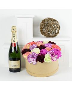 Simple Surprise Flowers & Champagne Gift