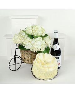 Parisian Dreams Flowers & Wine Gift
