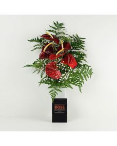 Admiration & Love Flowers & Chocolate
