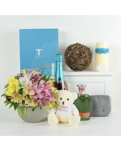 Birthday Special  Flowers & Champagne Gift
