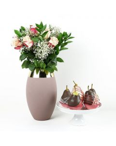 Blooming Beauty Floral Gourmet Gift Set