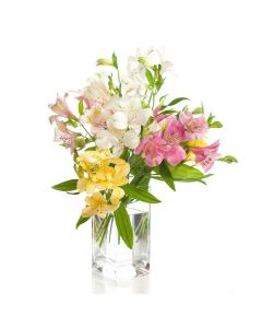 Parisian Brilliance Peruvian Lily Bouquet