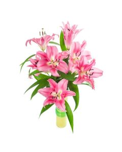 Berry Crush Lily Bouquet