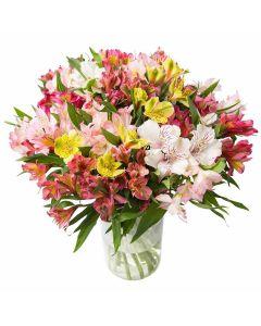 Versailles Dreams Mixed Peruvian Lily Bouquet
