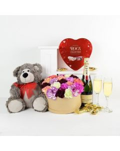 For The Love of My Life Flowers & Champagne Gift