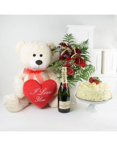 Forever In Love Flowers & Champagne Gift