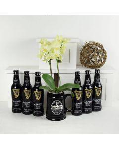 Guinness Flowers & Beer Gift