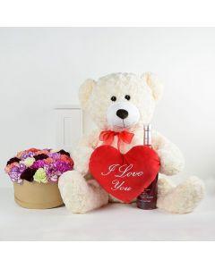 Love In Paris Flowers & Spirits Gift