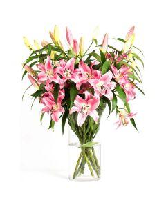 Summer Splash Peruvian Lily Bouquet