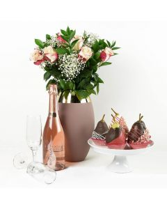 Pure Chic Gourmet & Champagne Gift