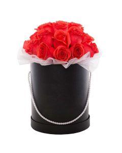 Red Glow Box Rose Set