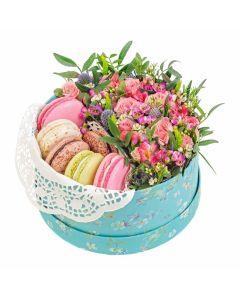 Vintage Rainbow Floral Gourmet Box Set