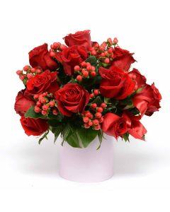 Red Radiance Box Rose Set