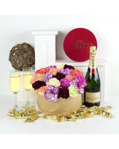 Celebrations Galore Flowers & Champagne Gift