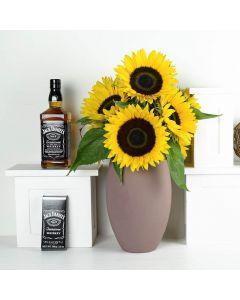 Make Life Sweeter Flowers & Spirits Gift