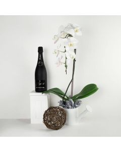 Pure & Simple Flowers & Champagne Gift