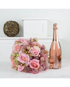 A Classy Affair Flowers & Prosecco Gift