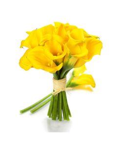 Golden Calla Lily Bouquet