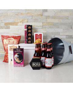 Bucket of Beer Gourmet Gift Set, beer gift baskets, gourmet gift baskets, gift baskets