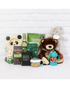 Happy Newborn Baby Gift Basket, Baby Gifts