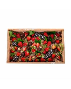 Dabble in Chocolate Dipped Strawberries