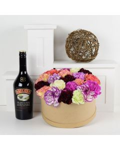 Simple Pleasures Flowers & Baileys Gift