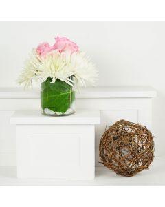 Simplistic Elegance Mixed Bouquet