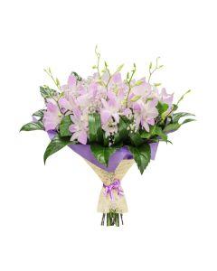 Pale Pink Dreams Orchid Bouquet