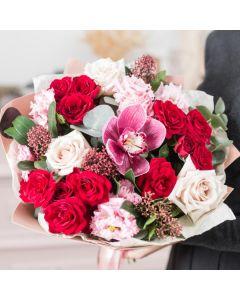 Jewel Toned Flowers