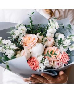 Muted Pastel Flowers