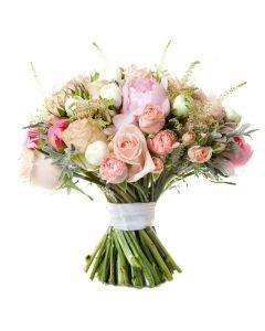 Pastel Dreams Mixed Rose Bouquet