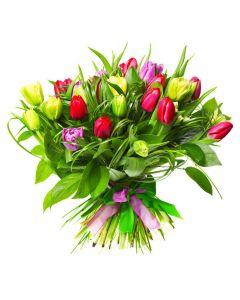Encapsulated Elegance Tulip Bouquet