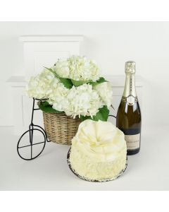 A Grand Celebration Flowers & Champagne Gift