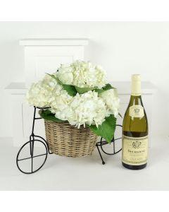 Celebrating You Flowers & Wine Gift
